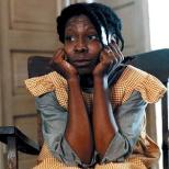 Goldberg as Celie in The Color Purple