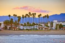 Santa Barbara from the pier