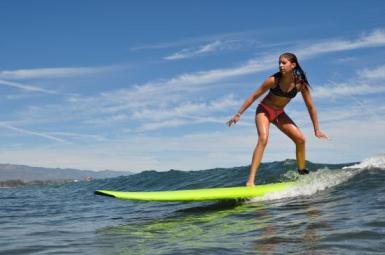 surfing Sophie Habermann